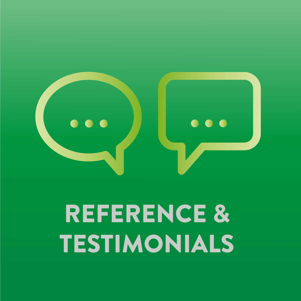 Client Reference and Customer Testimonial Services